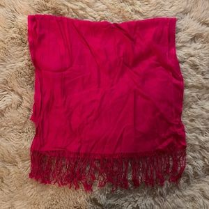 Charming Charlie Hot Pink Scarf